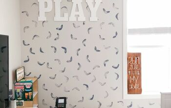 Playroom DIY Accent Wall