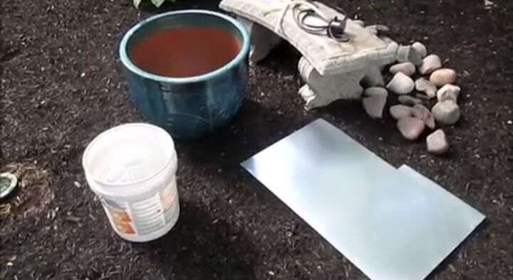 Materials to Make a Fountain