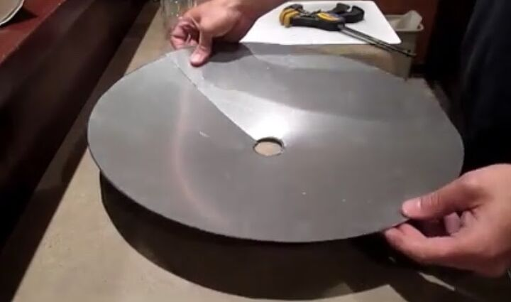 Step 5: Squeeze Circle Together and Clamp