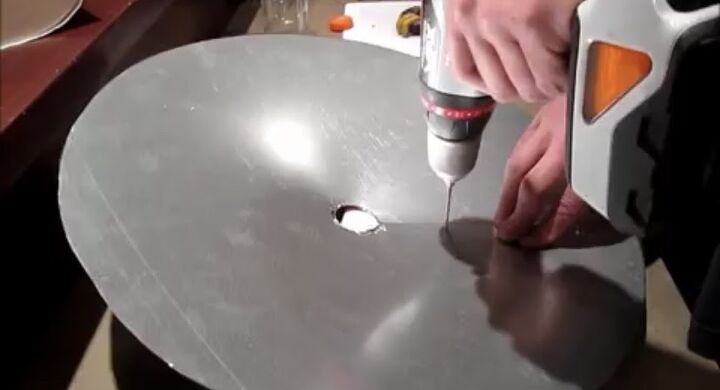Step 6: Nail or Wire Circle in Place