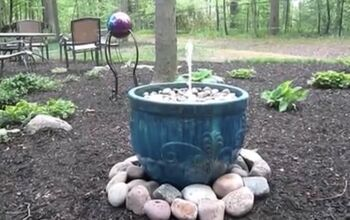 How to Make a Fountain for Under $50