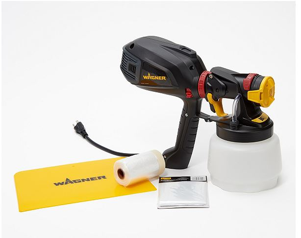 q anyone with experience using the wagner power sprayer