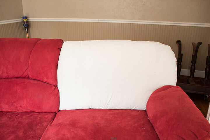 how to recover a recliner sofa