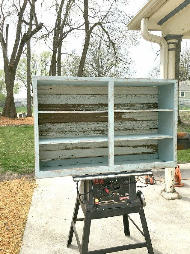 janky cabinet gets a makeover