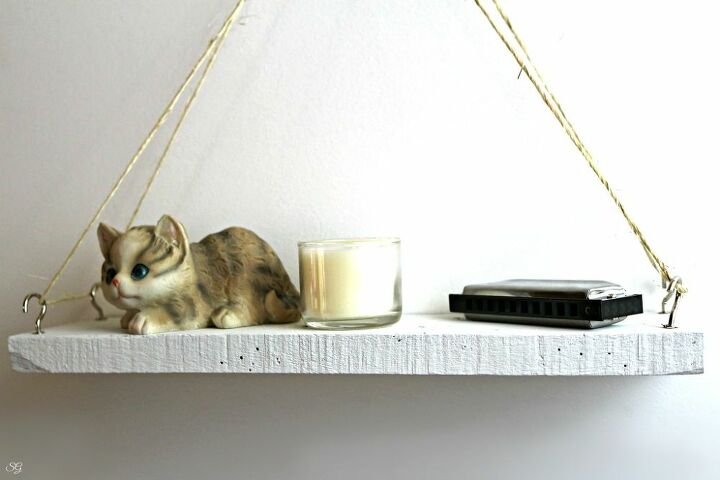 diy hanging curio shelf