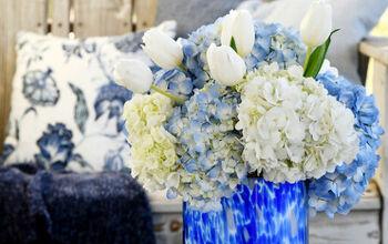 Conceal Flower Stems in a Flower Arrangement