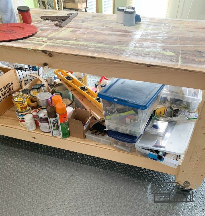 Messy Worktable Bottom