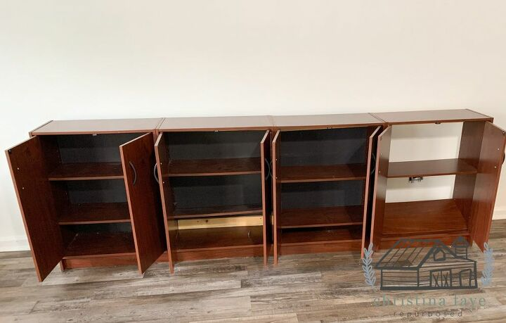 Attached Cabinets