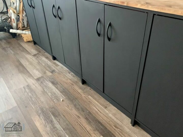 Cabinets After Paint