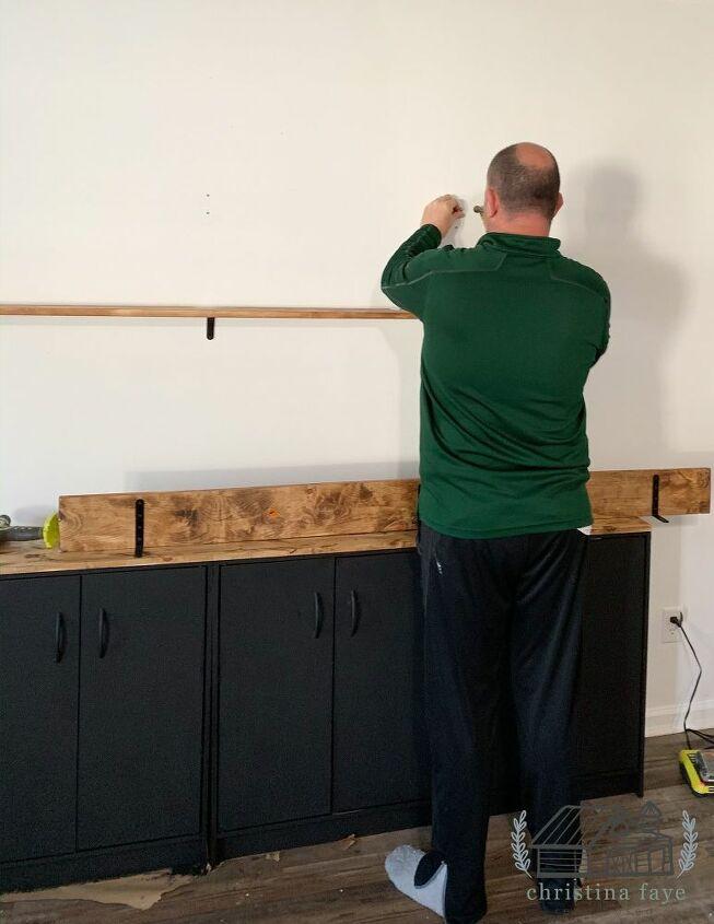 Adding Shelves to Wall