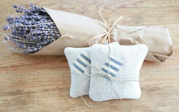 How to Make Farmhouse Style Lavender Sachets
