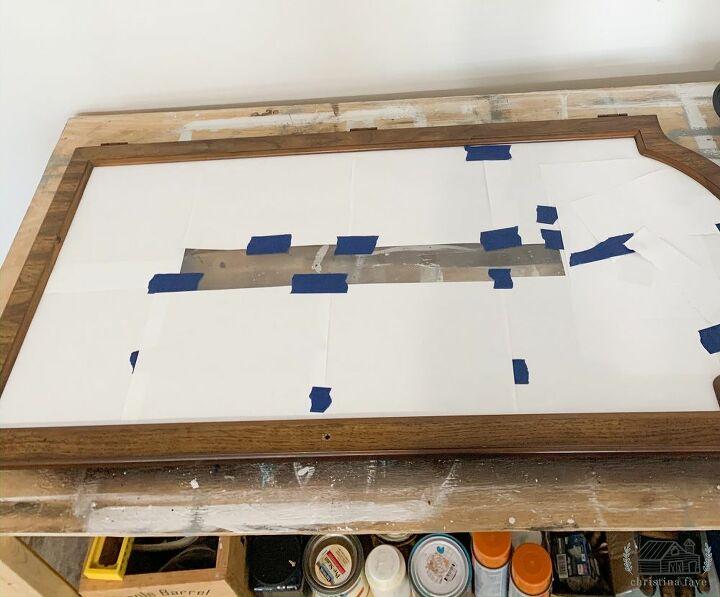 Prepping Door for Paint