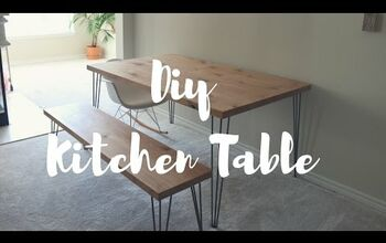 How to Build a Hairpin Leg Table