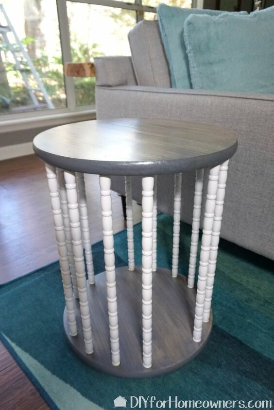 diy end table storage for stuffed animals
