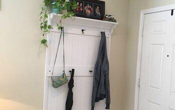 DIY Entryway Wall Organizer