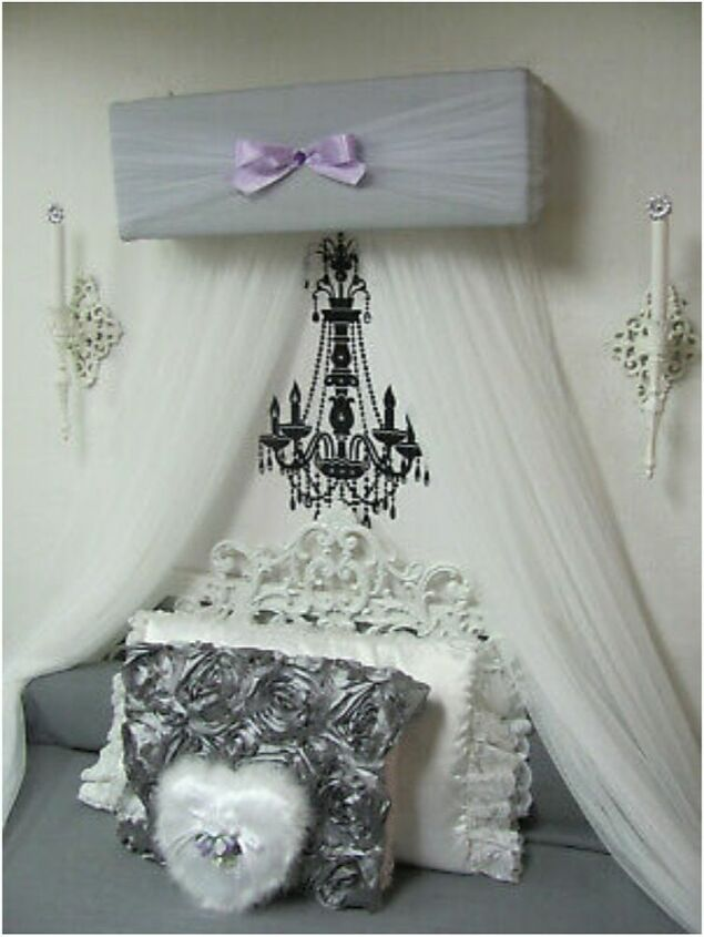 q how do i make this crown canopy