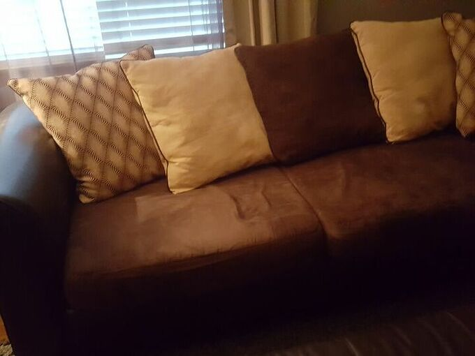 q how do i cover these back cushions on my couch tired of color