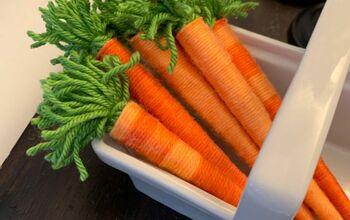 Wool Carrots!