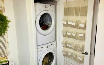 Laundry Closet Makeover!