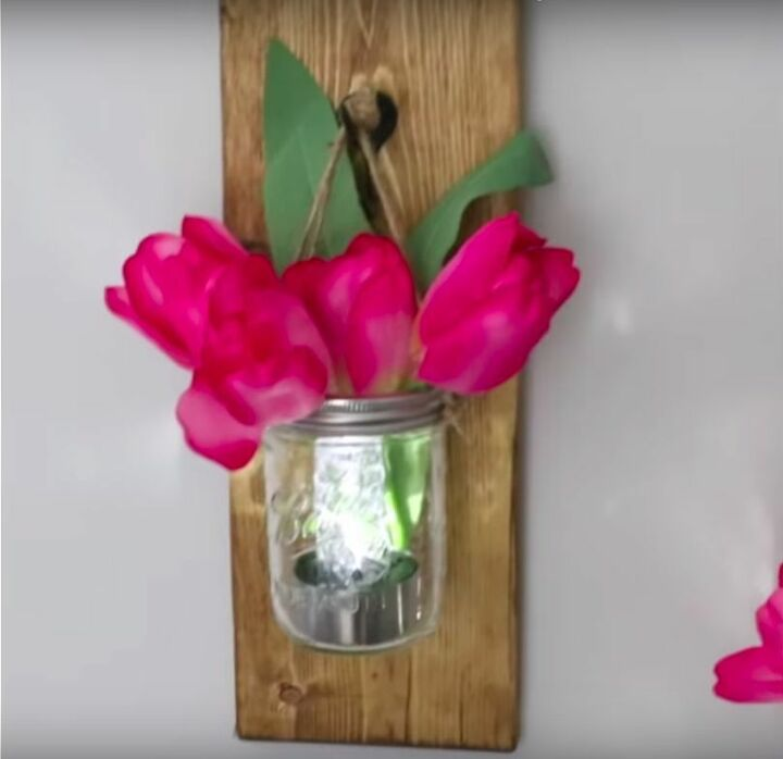 buy some solar lights to copy these amazing ideas