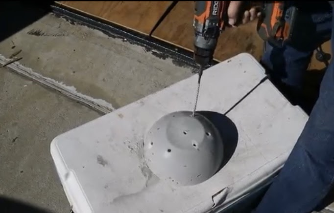Drill Holes for Lights