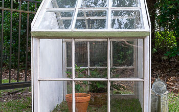 DIY Cold Frame Using Old Windows