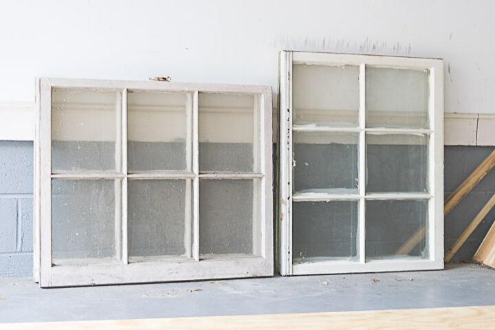 diy cold frame using old windows