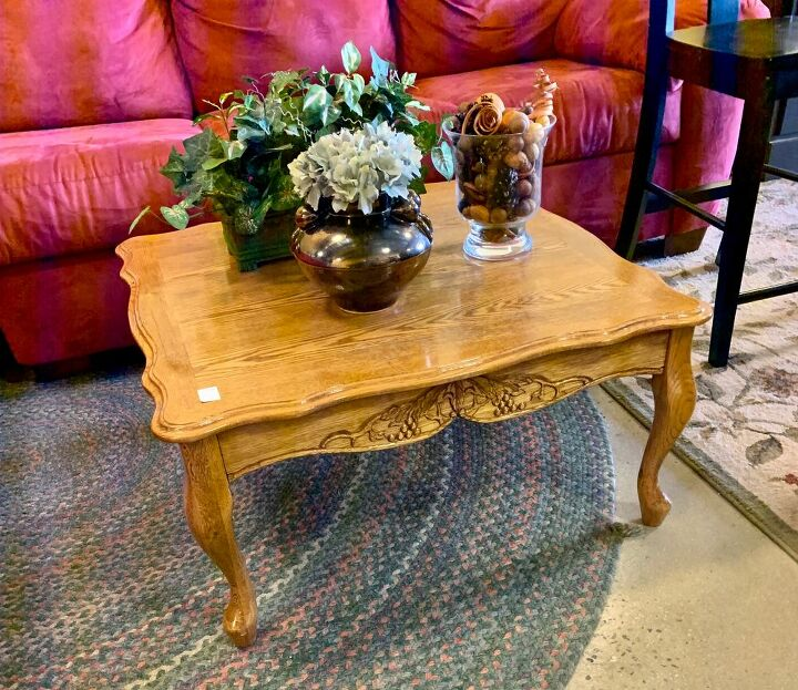 1960s coffee table into 2020