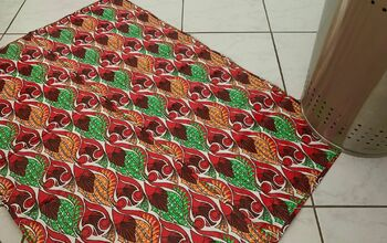 Bath Mat From Shopping Bags