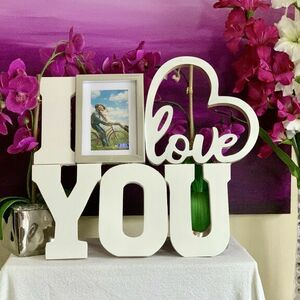 'I love you' picture frame