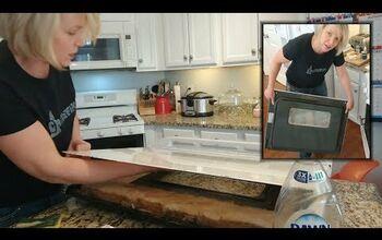 Make Your Oven Look New: Easy DIY Oven Door Cleaning for Under $5