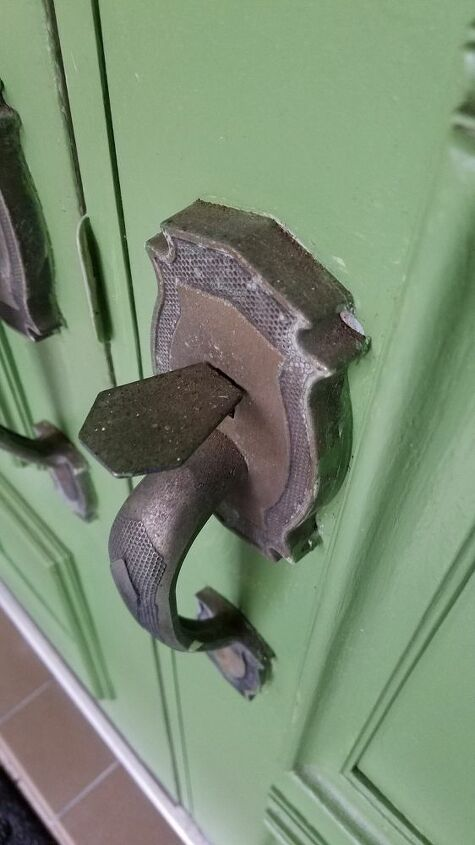 q how do i clean polish these door handles