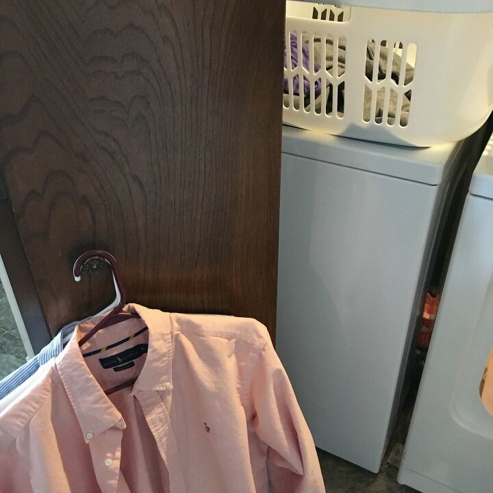 helping hand for the laundry room