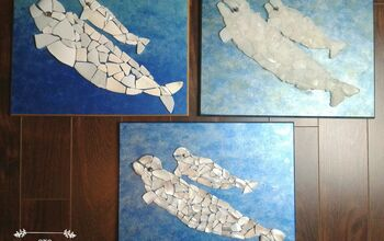 Beluga Mosaics Created With Beachcombed Finds