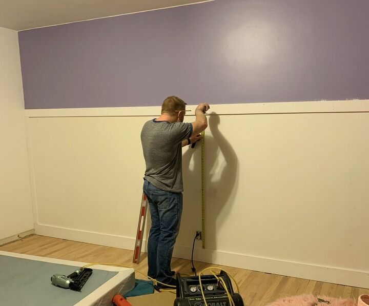 diy board and batten wall in just a couple hours