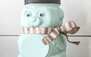Up Cycled Animal Cracker Bear Jug