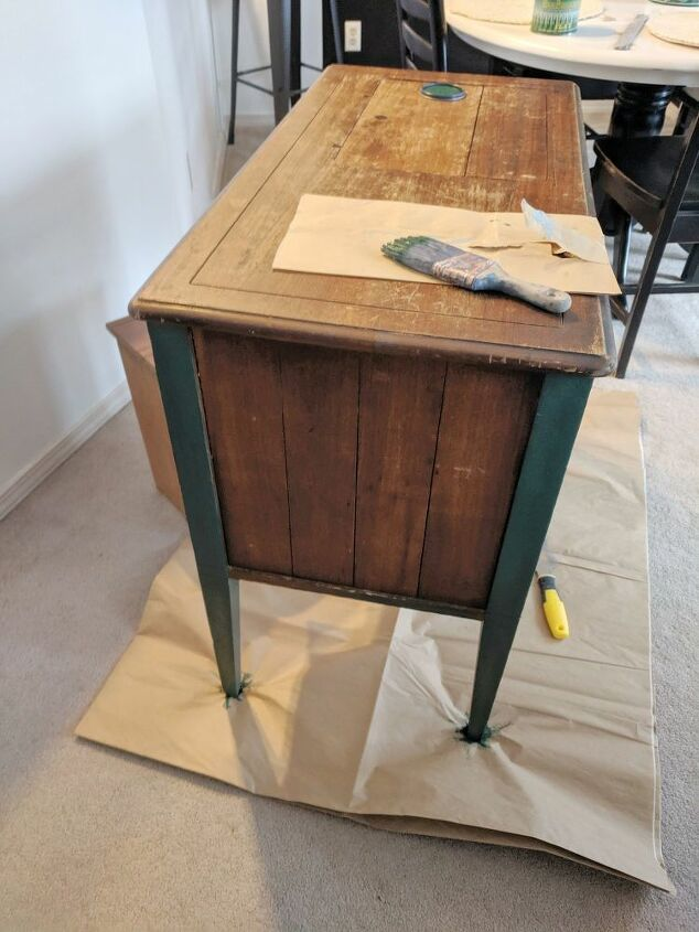 painting furniture with general finishes milk paint