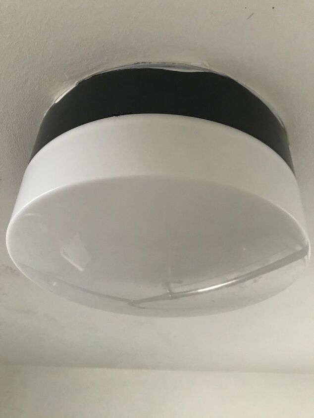 How Do I Replace The Bulb In This Enclosed Bathroom Ceiling Light Hometalk