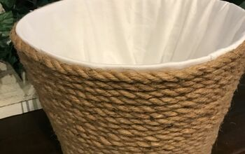 Dollar Tree Rope Basket