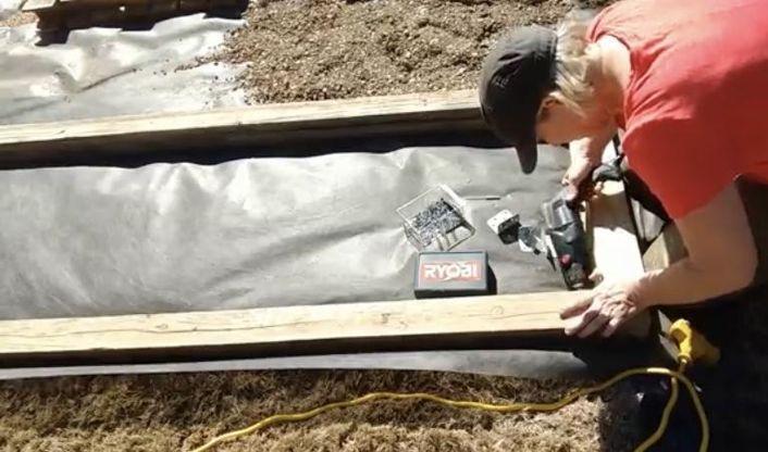 Build Border Garden Beds