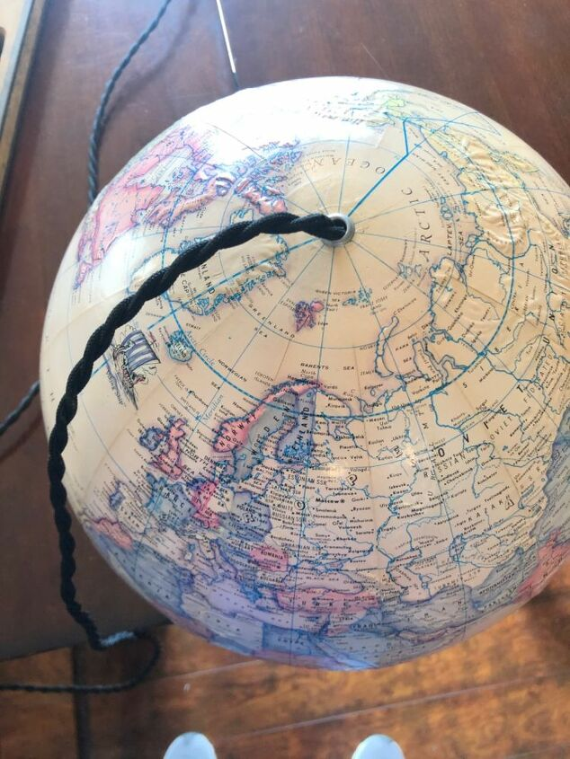 around the world for a hanging lamp