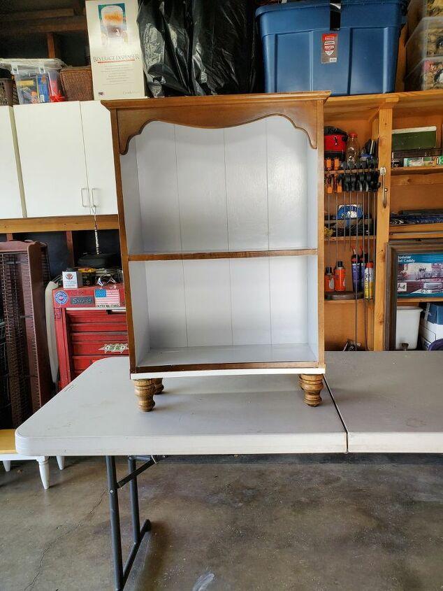 q upcycled shelf redo