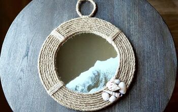DIY Nautical Themed Mirror