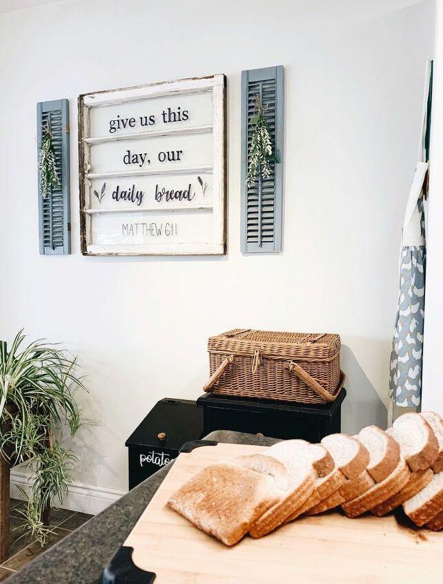 custom rustic window sign