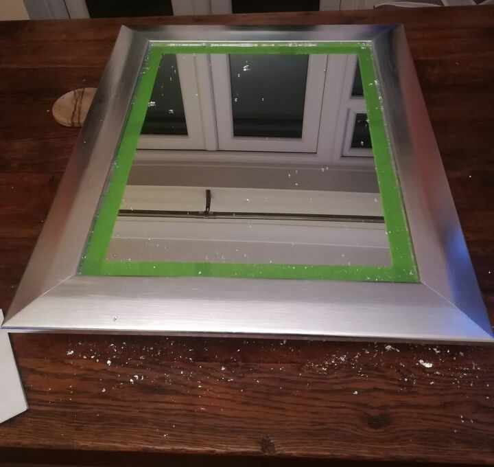 upcycle of an old mirror