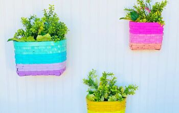Rainbow Basket Makeover