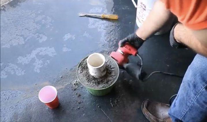 Remove Cement
