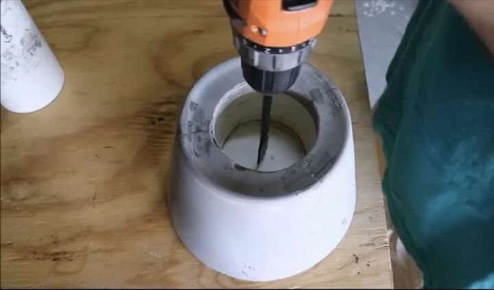 Drill Hole and Insert Socket