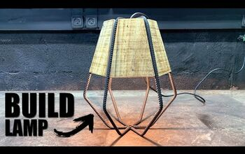 Rebar Revamp: How to Upcycle Rebar Into a Lamp