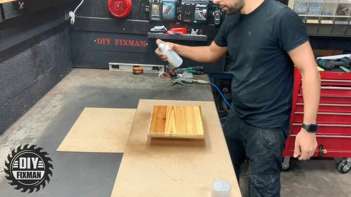 how to make a homemade wooden tablet stand diy